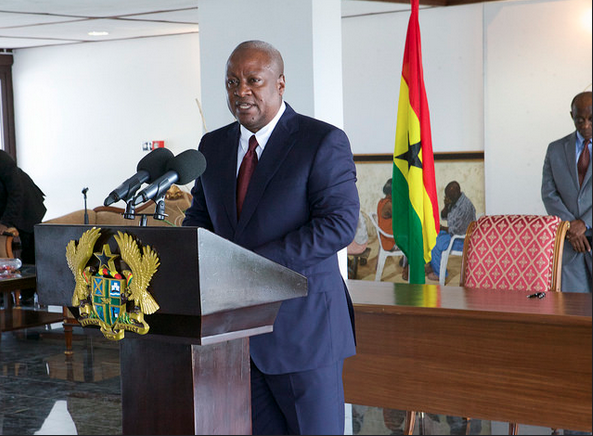 Ghana Government  Signs 7bn Deal With Italian Oil Giant ENI
