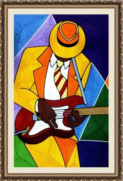 Guitar Player 1(24x36)