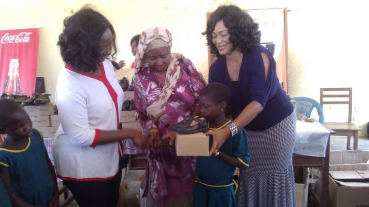 Celebs who give back: Kalsoume Sinare Foundation supports over 2000 school children
