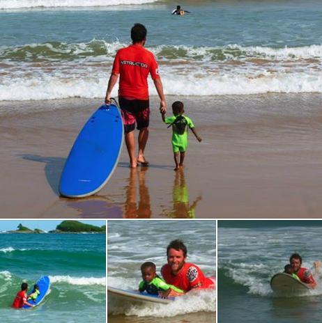 Surfing In Ghana: Mr Brights Surf School