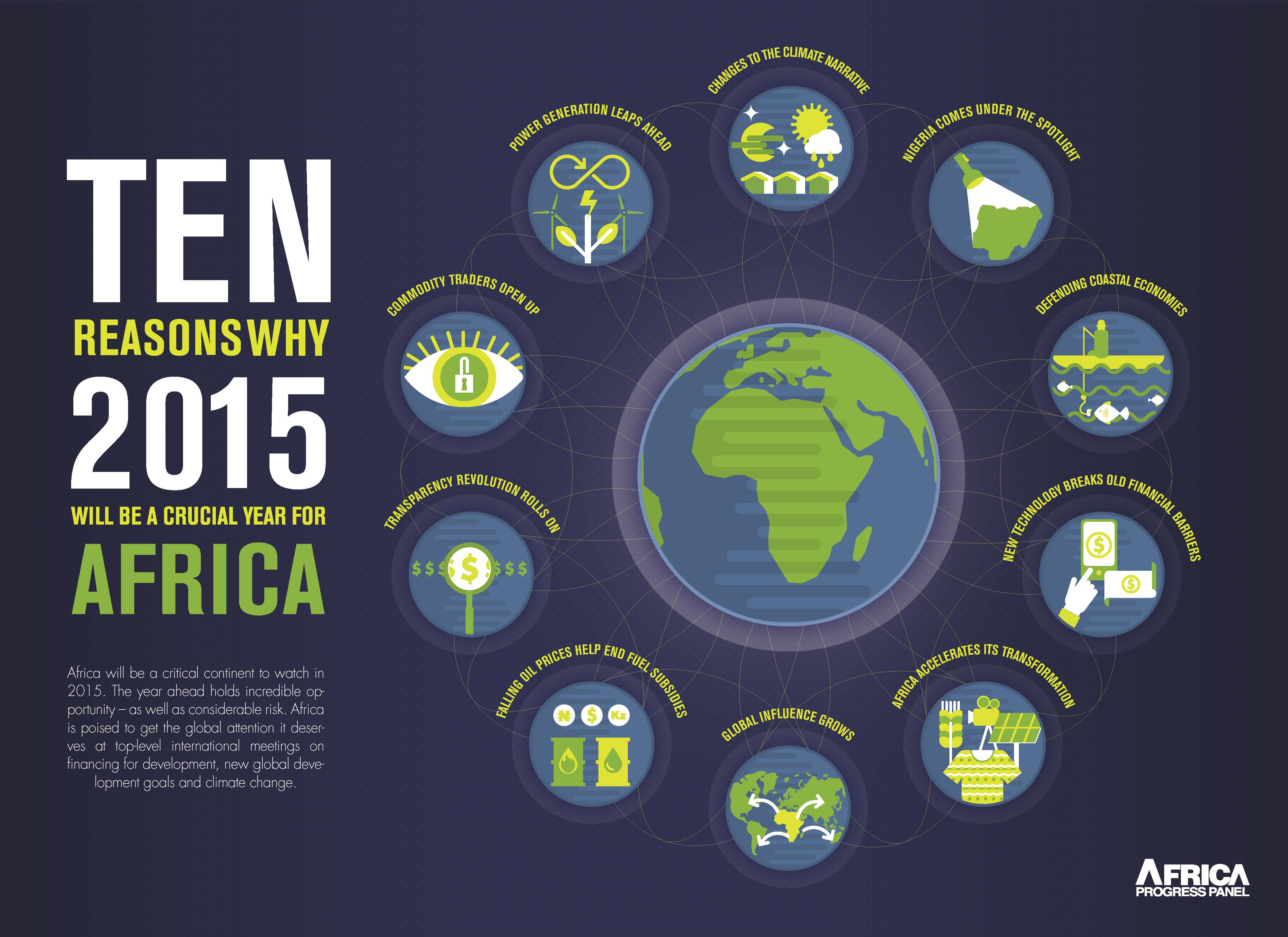 Ten reasons why we think 2015 will be a crucial year for Africa