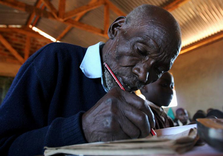 Tech Spotlight: World's Oldest First Grader Kimani Maruge Honoured By Google Kenya