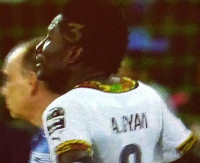 ASAMOAH GYAN Ghana V Guinea