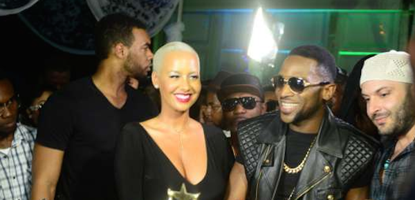 Amber Rose Hosts D'banj's 10yrs Anniversary Event…
