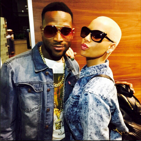 Amber Rose Hosts Dbanj's 10th Year Anniversary Event