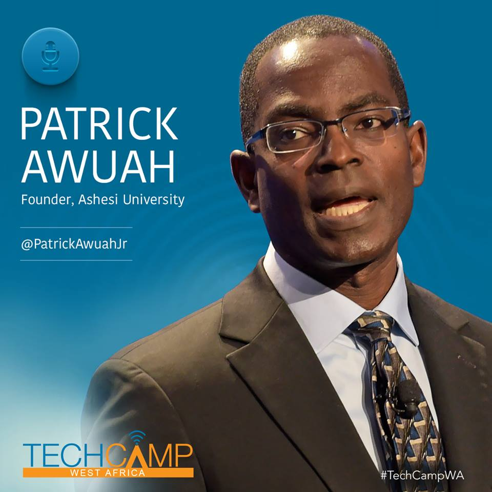 Ashesi University Founder Patrick Awuah At TechCamp West Africa…