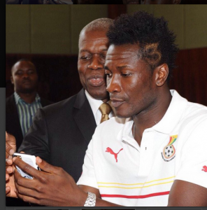 Ghana Black Stars gyan and MP