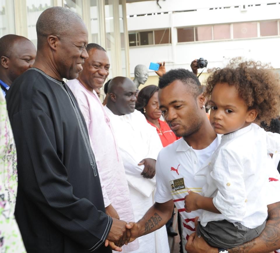 Ghana Black Stars jordon Ayew