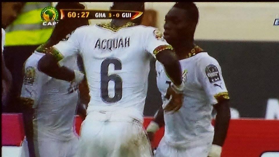 Ghana V Guinea GOAL