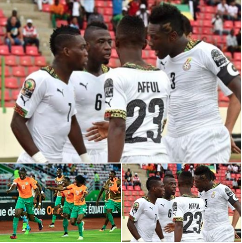 Ghana Vs Ivory Coast.