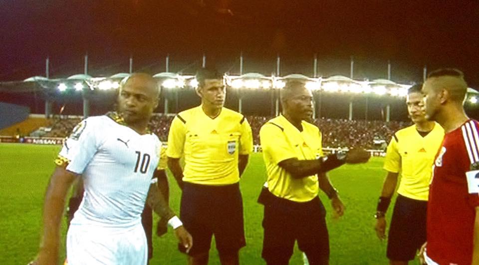Ghana v Equatorial Guinea...