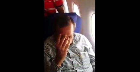 Indian woman confronts her molester on a flight and records …