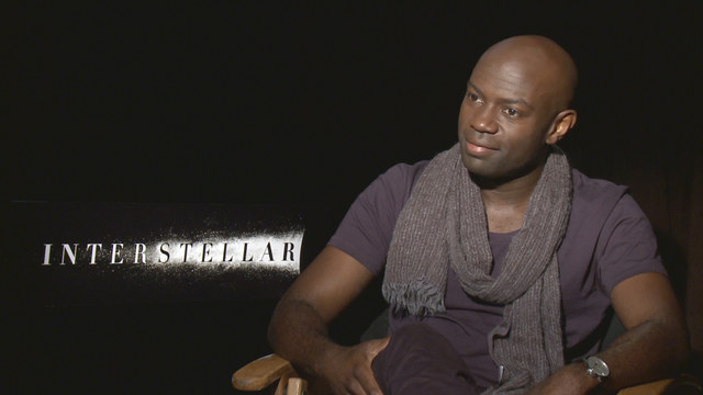 David Gyasi Star Of The Film Interstellar