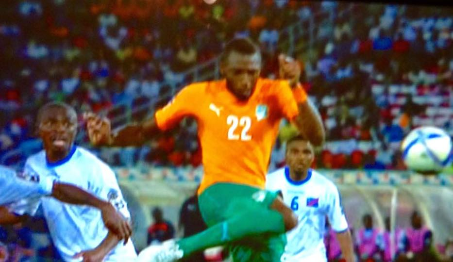 Ivory Coast Defeats DR Congo .