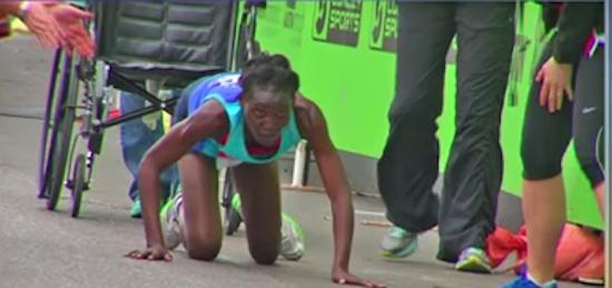 Kenyan Athlete Hyvon