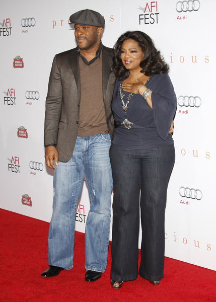 Tyler Perry Names Oprah As Godmother Of His Son