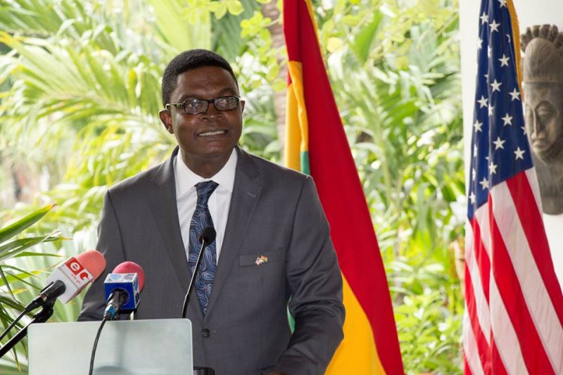 US Embassy honours Dr. Emmanuel O. Akwetey with Martin Luther King award