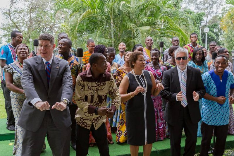 US Embassy honours Dr. Emmanuel O. Akwetey with Martin Luther King award1