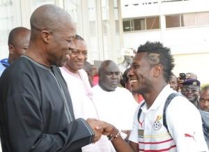 gyan Ghana Black Stars