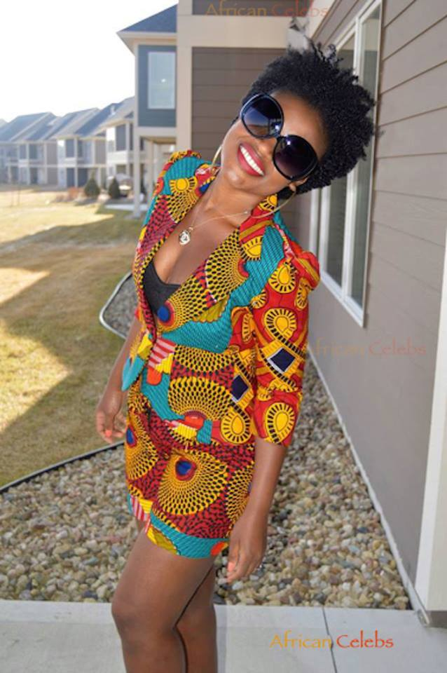 African Fashion: She totally rocked it…