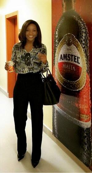 Amstel Malta Ambassador Genevieve Nnaji