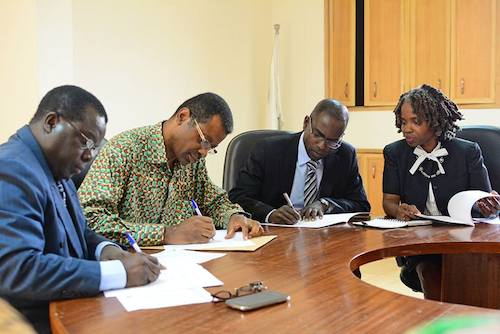 Ashesi signs historic affiliation agreement with University of Mines and Technology for Engineering programme