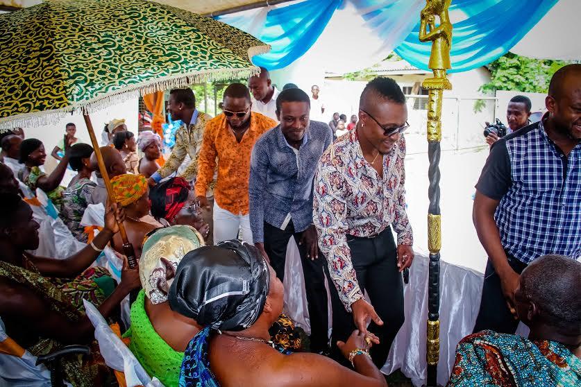 Baffour-Gyan-Asamoah-Gyan-Foundation-to-the-durbar