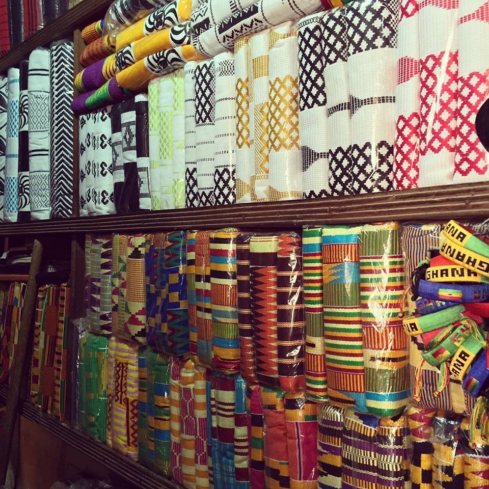 Kente Cloth is local to Ghana..