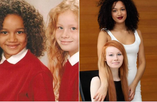 Nobody Believes These Biracial Twins Are Sisters….