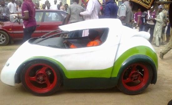 Nigerian University Students Make Car