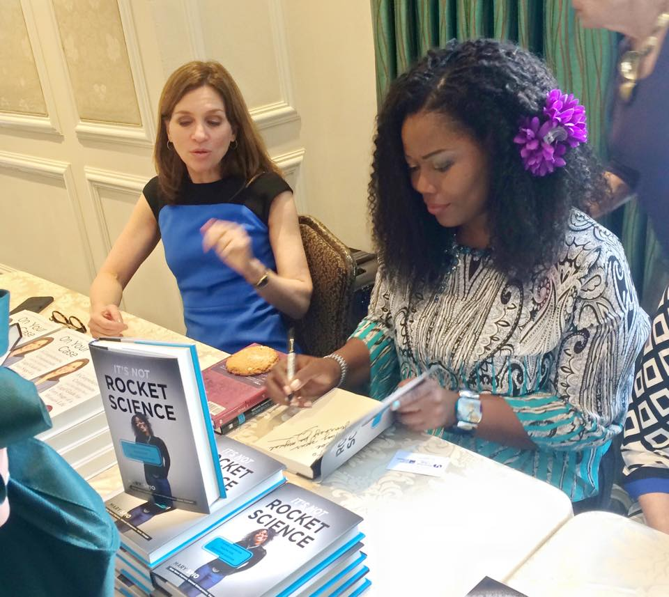 book signing Mary Spio