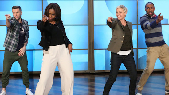Uptown Funk: Watch Michelle Obama Get Down To Uptown Funk