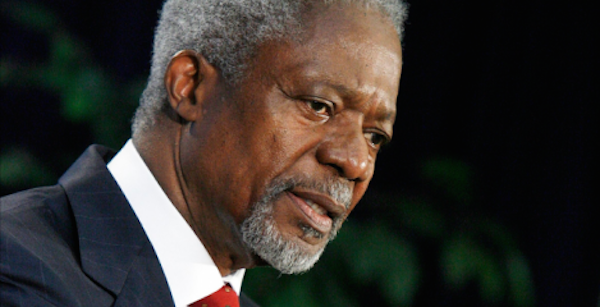 Happy Birthday Kofi Annan