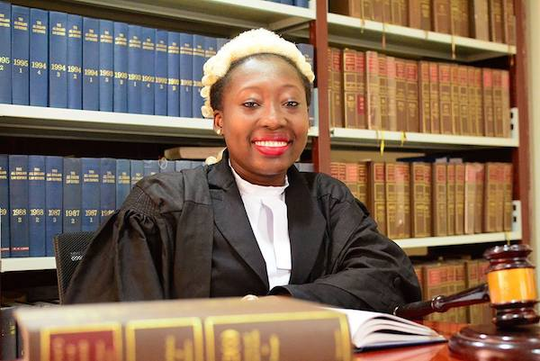 Ashesi Alumna Lawyer Enid Marful Sau