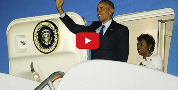 Obama In Jamaica: First US President To Visit In 30 Years