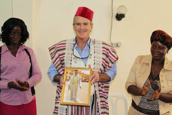 Piet DeVries: Liberian Traditional Leaders Honor Global Communities Country Director
