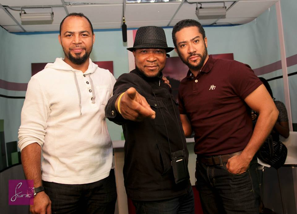 Spotted: Majid Michel, Ramsey Nouah in London for world premiere of Busted Life