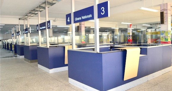 Ghana Airports Company limited To Expand The Arrival Hall…