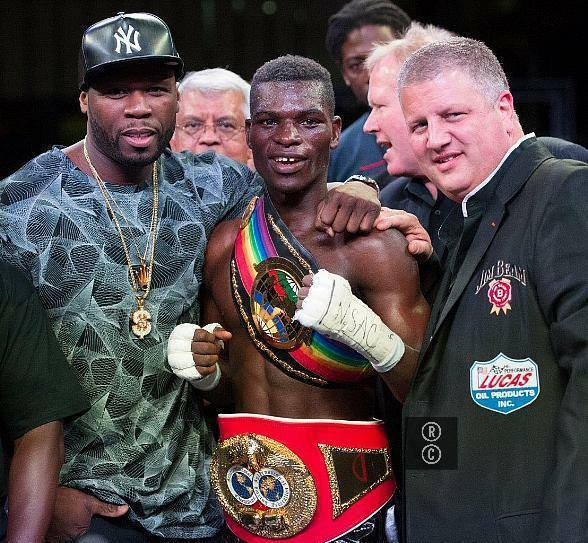 Ghanaian Professional Lightweight Boxer Richard Commey Wins IBF Intercontinental title