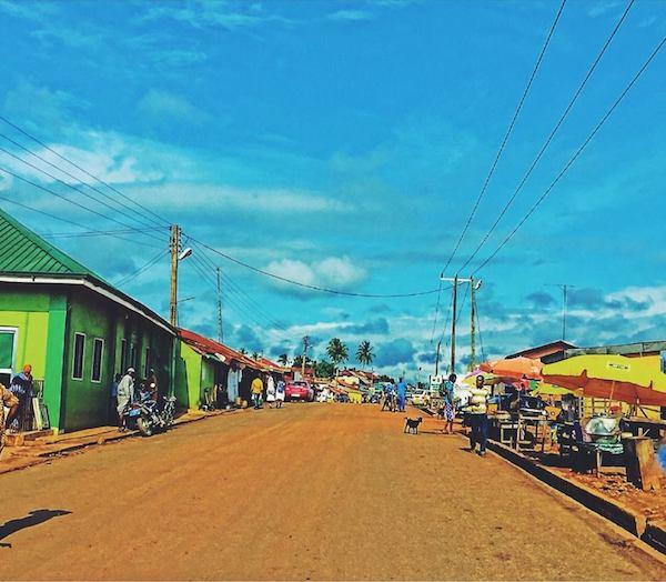 Akwatia Town Eastern Region Ghana