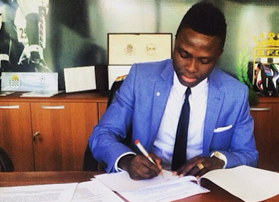 Ghanaian International Professional Footballer Samuel Inkoom Joins Boavista