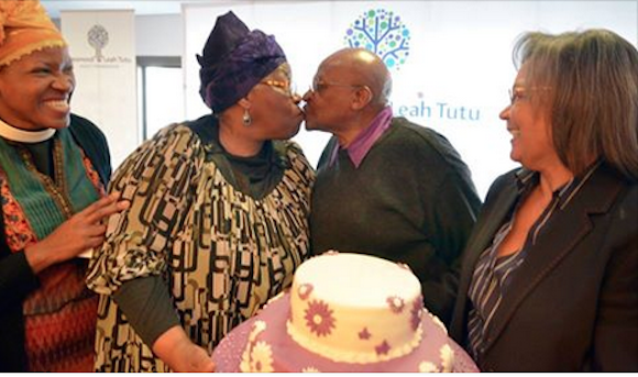 Happy 60th Wedding Anniversary To Archbishop Desmond Tutu And Leah Tutu