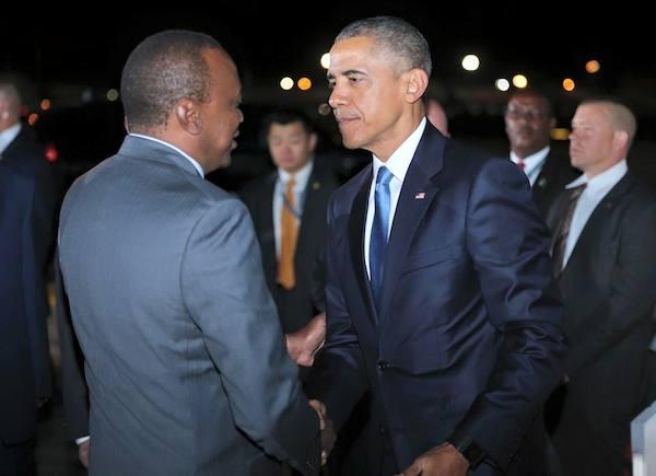 Obama and PresidentUhuruKenyatta
