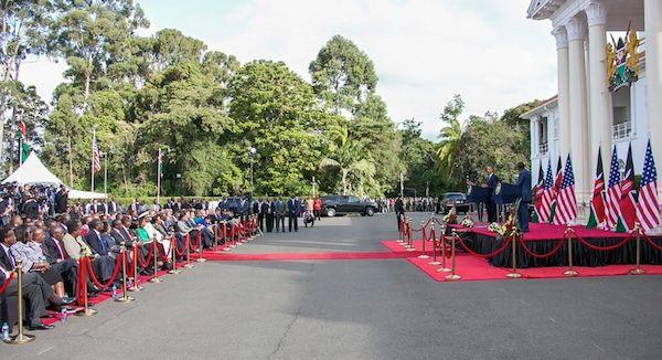 President Barack Obama and President Uhuru Kenyatta