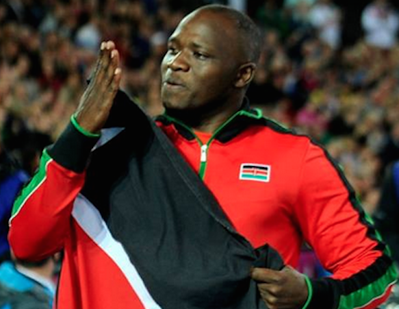 Julius Yego Of Kenya Wins Gold At The World Athletics Championships..