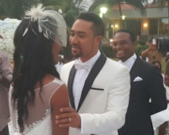 Happy Anniversary: Majid Michel And wife Renew Wedding Vows