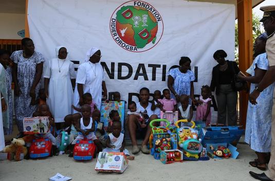 Celebs who give back: The Didier Drogba Foundation…