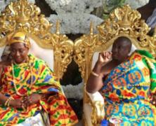 Happy 1st wedding anniversary Oheneyere Gifty And Oyiakehyire Nana…