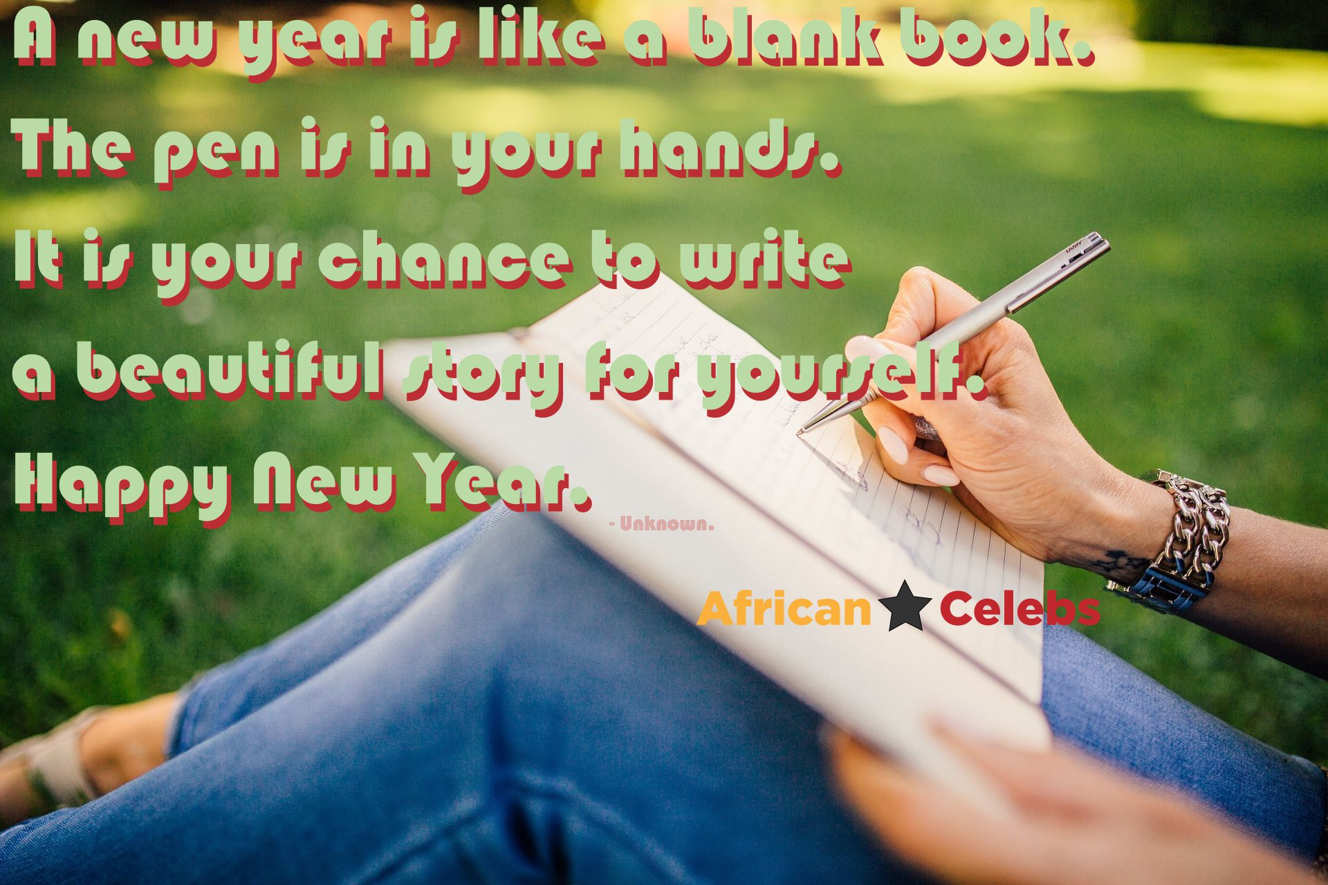 Happy New Year 2016: A new year is like a blank book