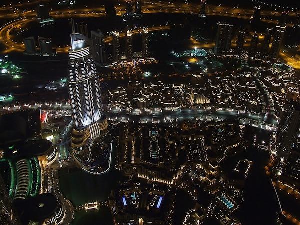 Dubai Hotel Fire: Dubai Skyscraper On Fire